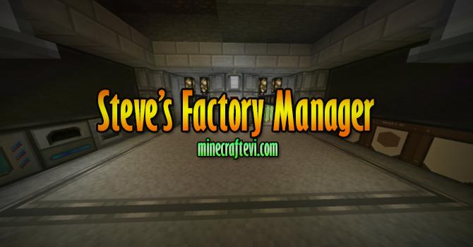 Steve's Factory Manager Mod İndir