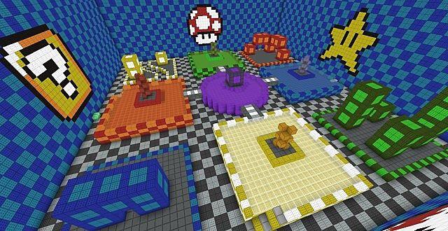 Скачать Super Mario Bros для Minecraft - RU-M.ORG