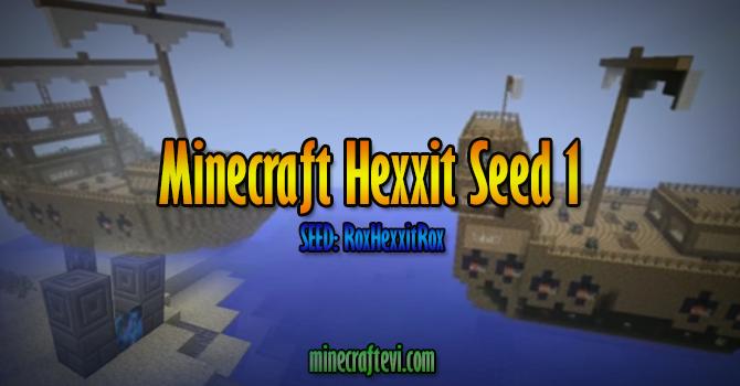 Minecraft Hexxit Seed 1