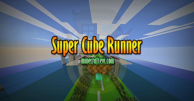 Super Cube Runner Haritası