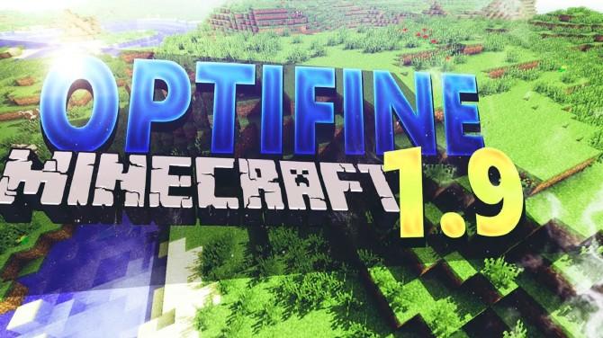 Minecraft 1.9 OptifineHd