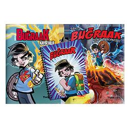 BugraaK Çizgi Roman 2. Sayı Sonun Başlangıcı + BugraaK Çizgi Roman 1. Sayı + BugraaK Okul Defteri